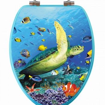 3D Sea Turtle Toilet Seat