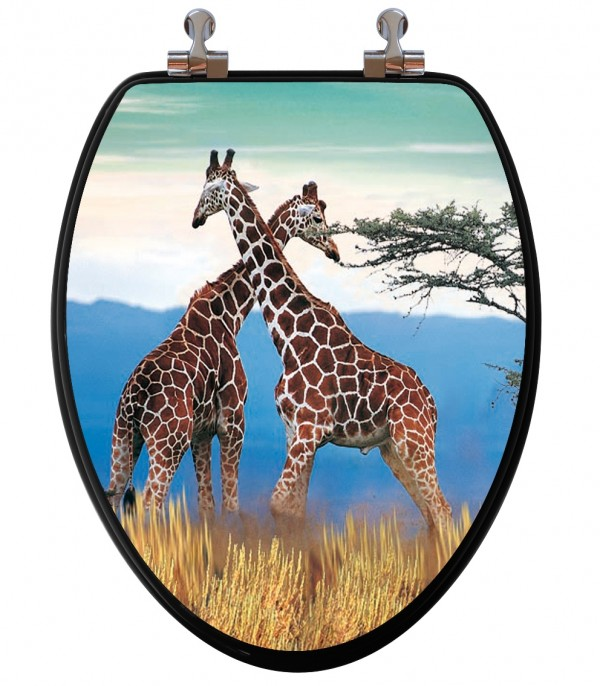 Giraffe Toilet Seat