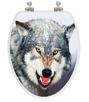 Wolf Round Toilet Seat