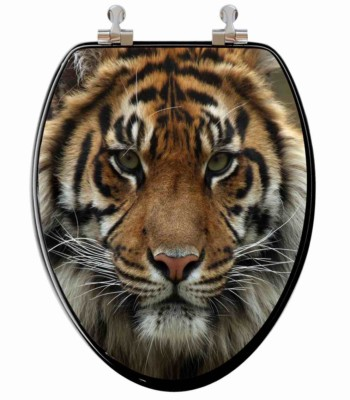 Big Cat Elongated Toilet Seat