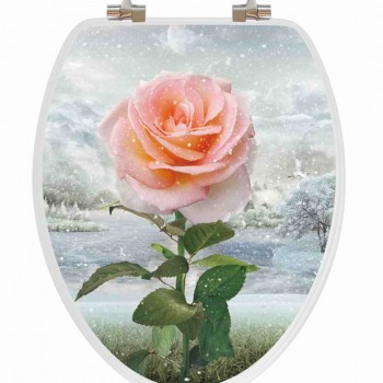Rose Vario Snow Toilet Seat