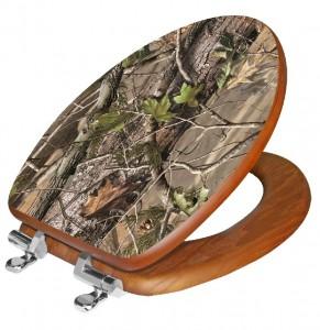 Realtree APG Camo Toilet Seat
