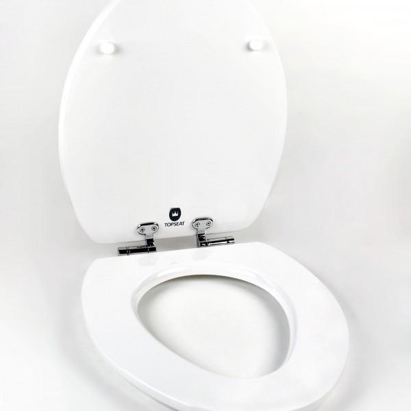 3d Vario Scenario 174 Elongated Toilet Sea W Chromed Metal