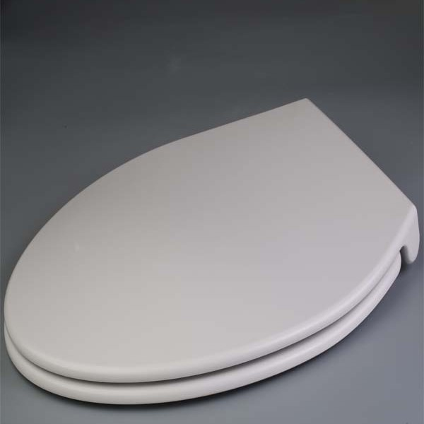 Elongated Padded Toilet Seat With Metal Hinges Mayfair 113CP 000