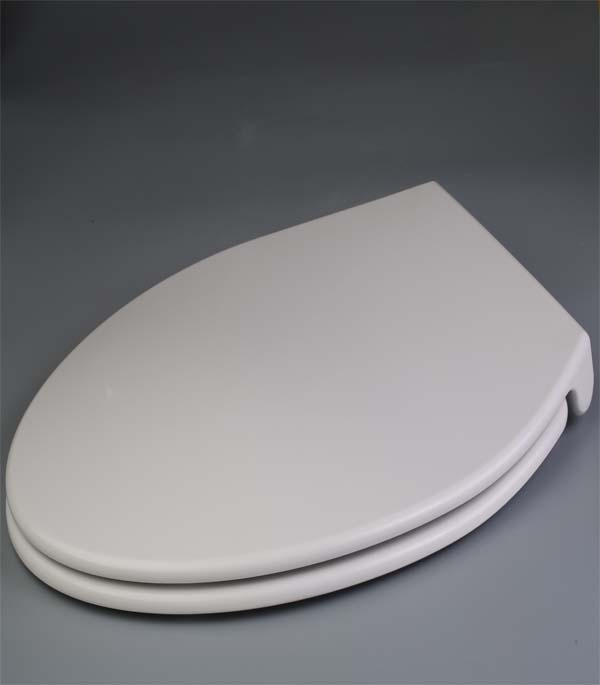 Duronova Elongated Toilet Seat W Slow Close Chromed