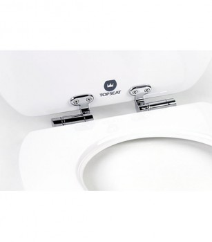 Art of Acryl Toilet Seat White Slow Close Hinges