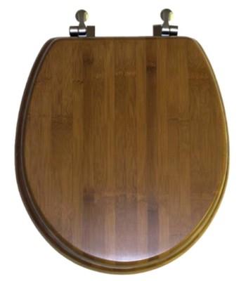 Round Toilet Seat Bamboo