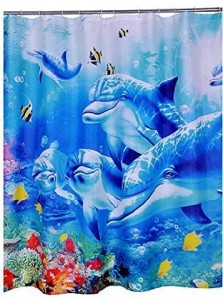 Dolphin Shower Curtain