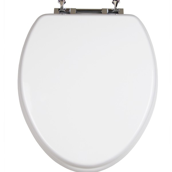 Adult//Child w//Chromed Metal Hing TOPSEAT TinyHiney Potty Elongated Toilet Seat