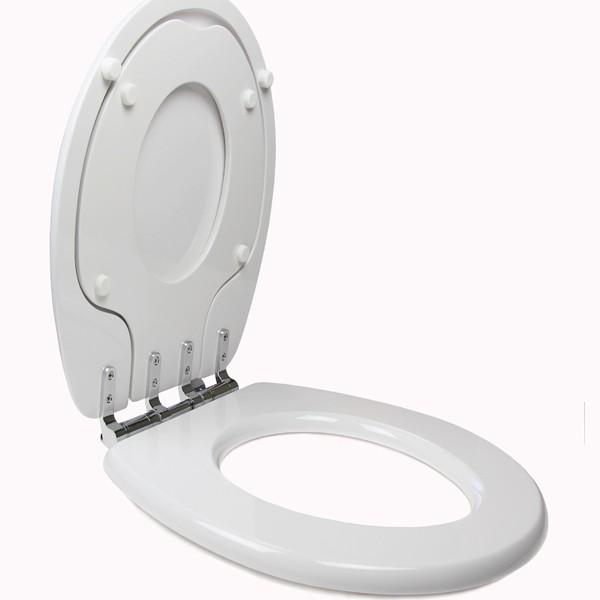 tinyhiney potty round slow close toilet seat open potty up