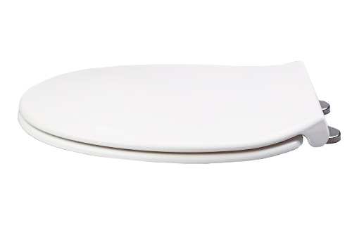 Pleasing Topseat Duronova Round Toilet Seat W Slow Close Chromed Ocoug Best Dining Table And Chair Ideas Images Ocougorg